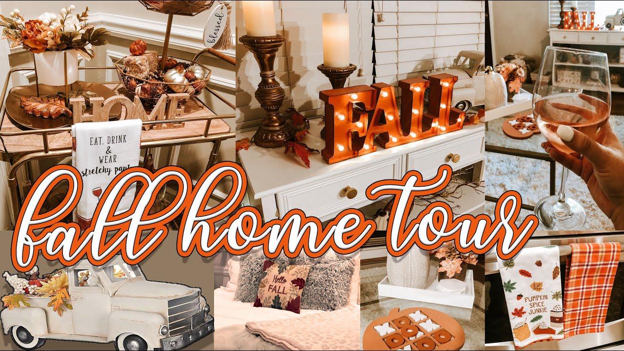 Fall Home Tour 2019 Cozy Modern Fall Decor