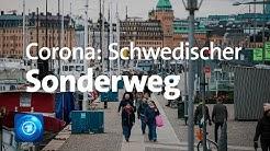 Schweden lässt Bürgern viel Freiheit