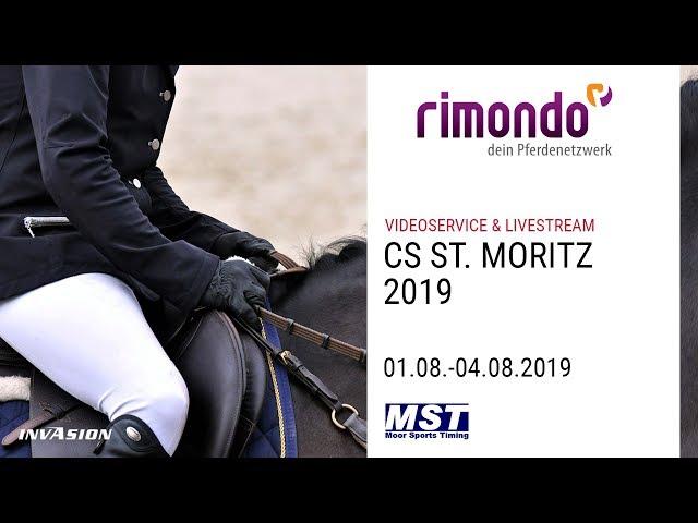 PFERDESPORTTAGE CS ST. MORITZ 2019 - powered by rimondo.com & invasion.ch