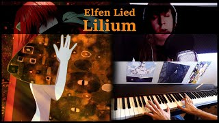 【Elfen Lied】~ Lilium  (Piano and Vocal cover) feat Little-Chip