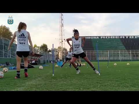 #SudamericanoSub20Femenino: Todo listo para jugar ante Colombia