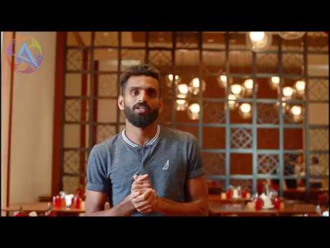 AURA 2k18- wishes by C K Vineeth -Football player-KERALA BLASTERS