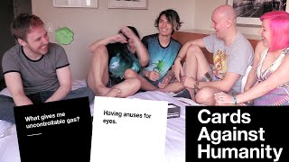 LIVE CARDS AGAINST HUMANITY WITH MY DIRTY FRIENDS