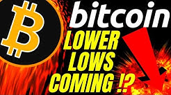 LOWER LOWS COMING in BITCOIN LITECOIN and ETHEREUM!? Crypto price prediction, analysis,news, trading