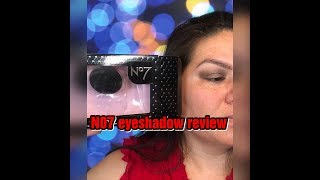 #7 EYESHADOW REVIEW