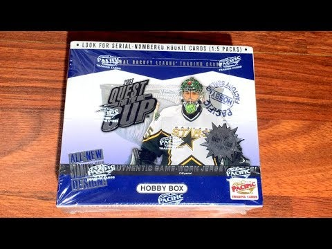 02/03 Pacific Quest For The Cup Hockey Hobby Box Break - 3 Hits