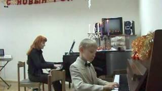 И.Беркович Концерт №2 op.44 для двух ф-но (ч.2&3)