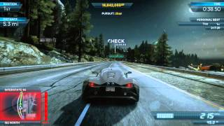 NFS Most Wanted 2012: Audi R8 GT Spyder & Marussia B2 Full Pro Mods vs. Most Wanted Venom