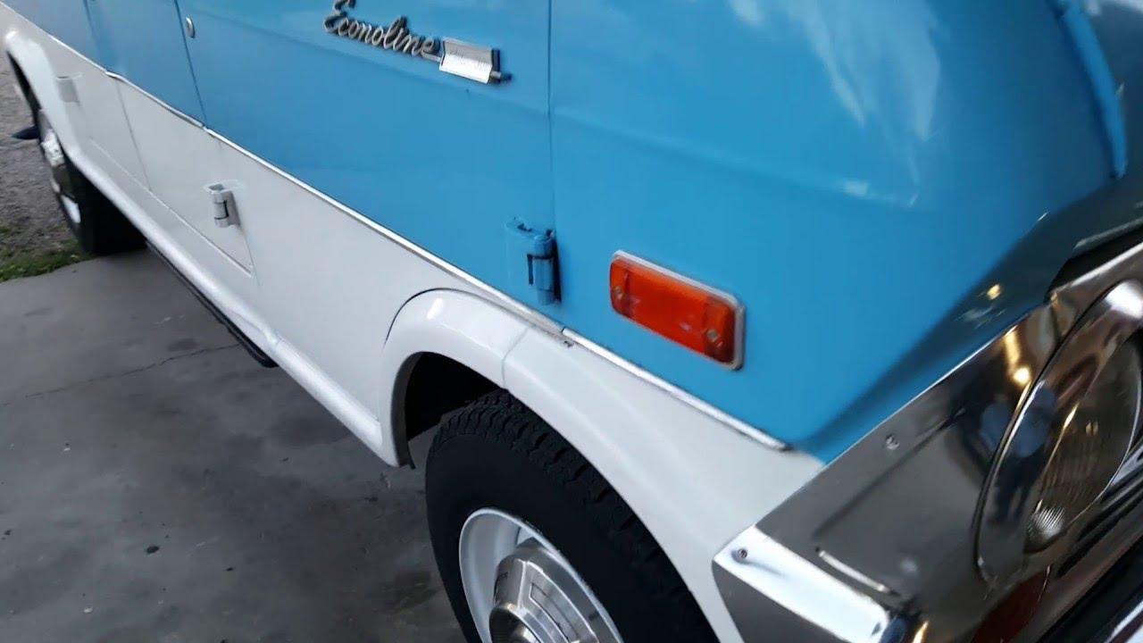 8e43b5bcb5788b 1970 Ford Econoline E300 super van camper - YouTube