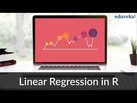 Linear Regression in R | Linear Regression Model in R | R Programming Tutorial | Edureka