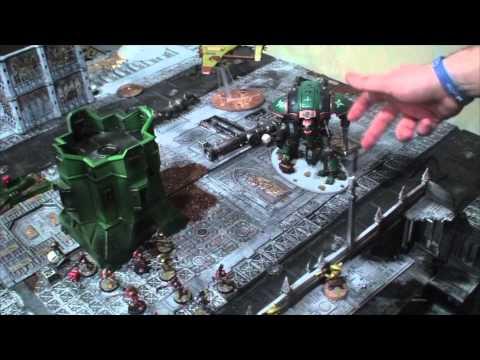 TBMC - HD Video Batrep - 1850 Tau vs Blood Angels