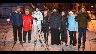 Лыжная прогулка в памяти Гульшат Котенковой