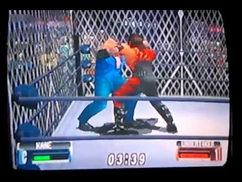 Undertaker vs kane  cage match