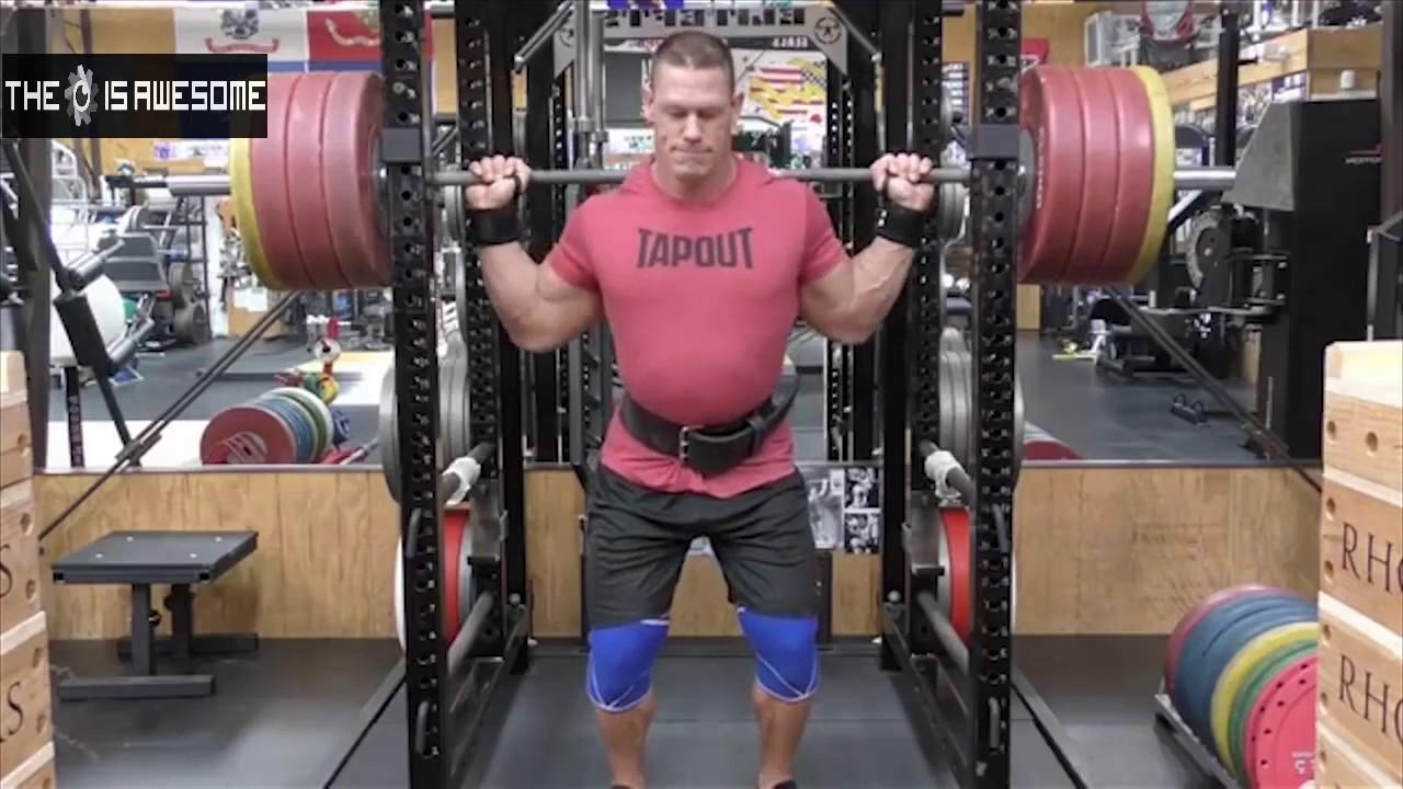 John cena training in gym 2016 - John cena gym image ...