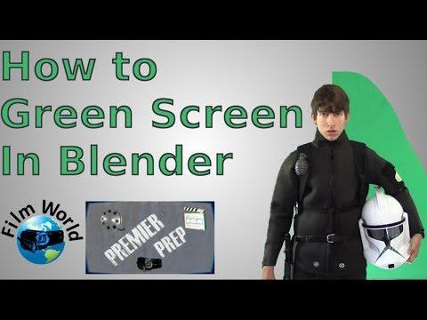 Premier Prep - How to green screen in Blender | Film World | Premier Prep episode 20