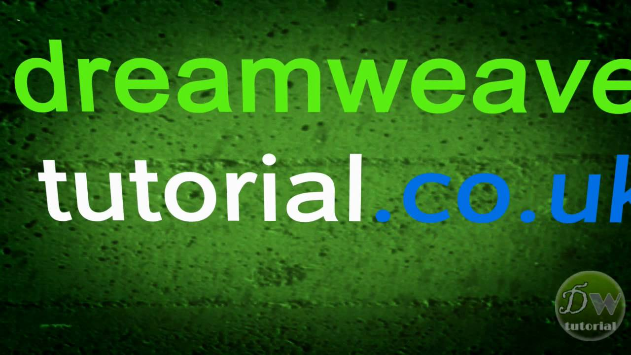 dreamweaver template tutorial part 6 inserting and adjusting text