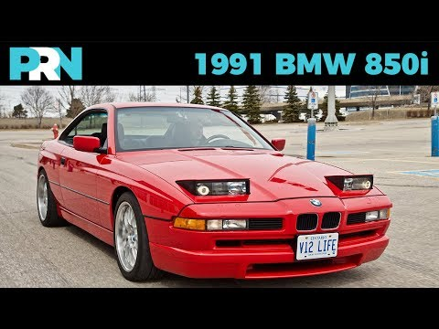 V12 Manual 8 Series | 1991 BMW 850i | TestDrive Spotlight