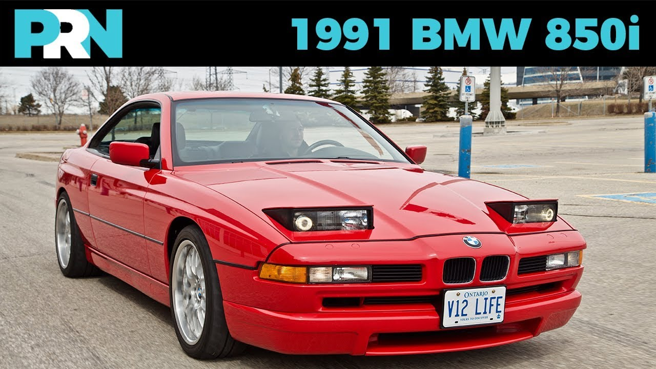 V12 Manual 8 Series 1991 Bmw 850i Testdrive Spotlight