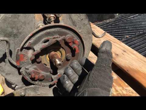 """13"""" Forklift motor for EV project"""
