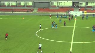 PFL RED SHARKS VS TITANS SEMANA 10 2014   2015