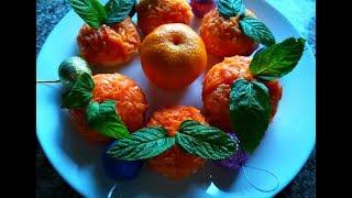 Сырная закуска «Мандарины».Сытная и красивая закуска