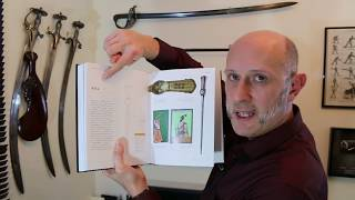 Indian Arms & Armour Book and The Pata Gauntlet Sword
