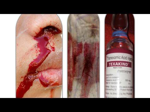 TEXAKIND 500 inj. Rx_ TRANEXAMIC ACID USE & side effect