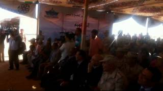 goumhoria  festival to honor the entire brigade elwazer , officers and employees the new Suez Canal