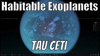 Tau Ceti - Closest Sun Like Star With Earth Like Planets