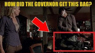 The Walking Dead Explained How Did The Governor Get The Sheriff Bag Of Guns?