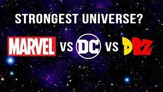 Die Stärksten Universum (Marvel-v-DC v DBZ)