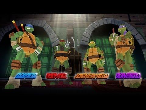 Ninja Turtles Games - Ninja Turtle 3D Tactics