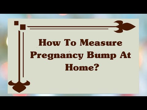 Measurement Of Pregnant Bump At Home? | Pregnancy Belly Monthly Progression | Pregnancy Info