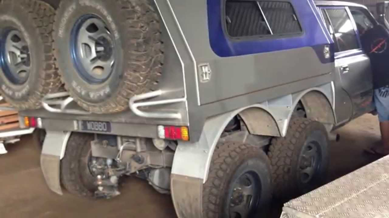 Land Cruiser 79 6x6 >> 6x6 80 SERIES AIR SUSPENSION - YouTube