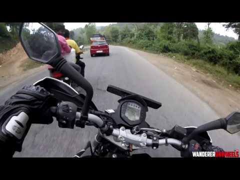 RIDE FAST BUT RIDE CLEAN [RAW FOOTAGE] | KTM DUKE 200