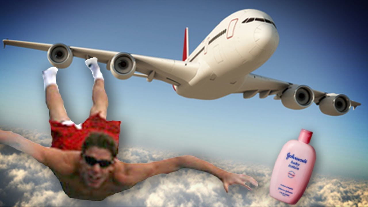 Airplane masturbate