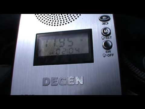 Radio Liberty (United States of America) 11945 Khz Degen DE17