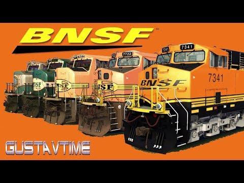 BNSF Trains