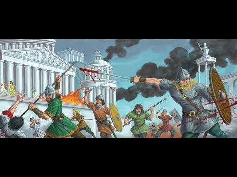 Western Roman Empire's Last Stand at Rome 409 AD - Outnumbered 40:1