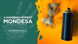 A Namibian Moment - Painting Mondesa