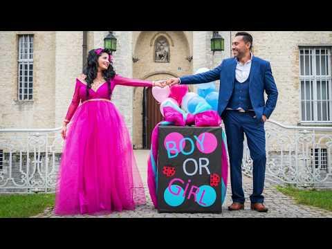 Boy Or Girl Gender Reveal Video (Erkekmi kizmi videosu) Fatos & Erhan