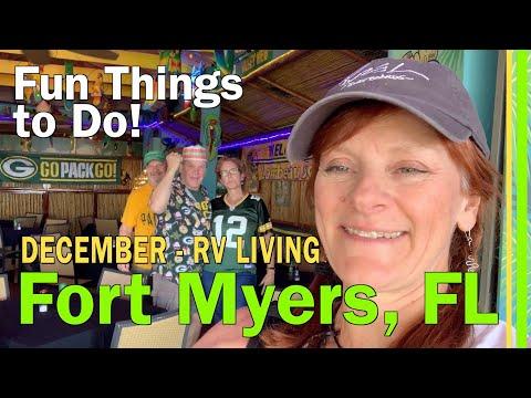 FT MYERS FL | 6 MILE CYPRESS SLOUGH PRESERVE | PARROT KEY CARIBBEAN BAR | SALTY SAMS MARINA-EP110