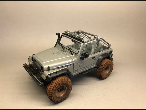 Revell: Jeep Wrangler Rubicon Full Build Step by Step