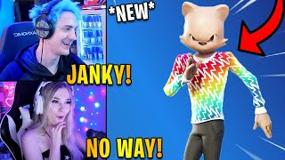 Streamers React to *NEW* JANKY Skin! | Fortnite Highlights & Funny Moments