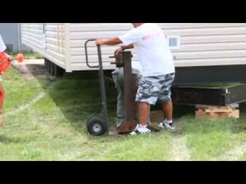 able mobile housing mobile home set up youtubeWiring A Trailer House #17