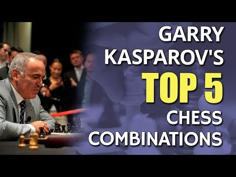 Garry Kasparov's 👉 Top 5 Chess Combinations with GM Nadya Kosintseva