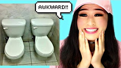 Most Awkward Bathroom Design Fails