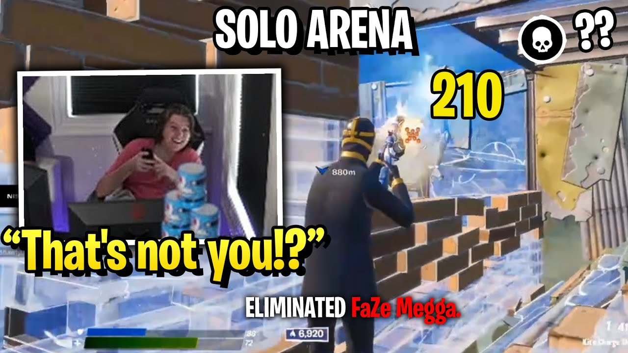 FaZe Dubs vs FaZe Megga Finally 1v1 in Solo Arena!