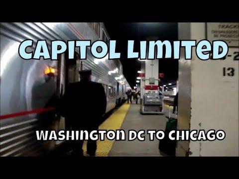 Overnight on Amtrak's Capital Limited - Washington DC to Chicago