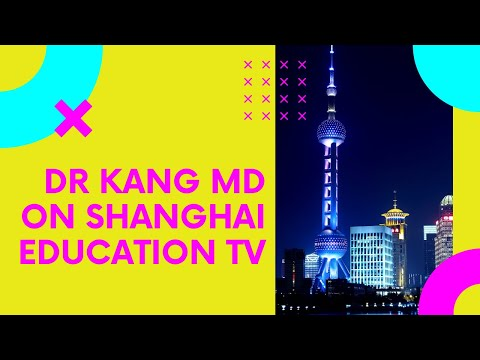 Shanghai Education Television Station Interview